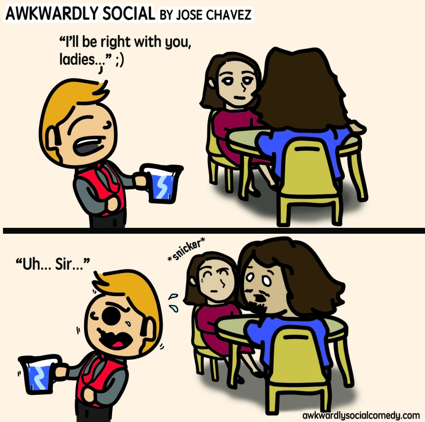 awkwardl social comic